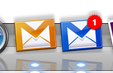 fluid gmail icons in my dock
